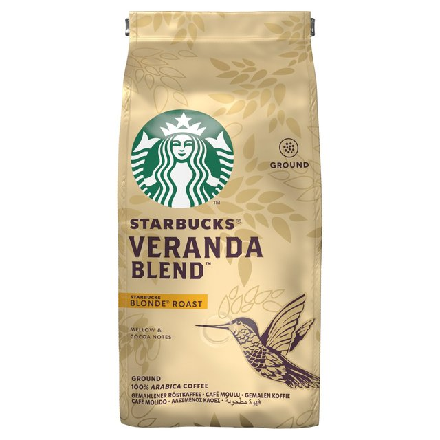 STARBUCKS Veranda Blend, Blonde Roast, Ground Coffee 200g