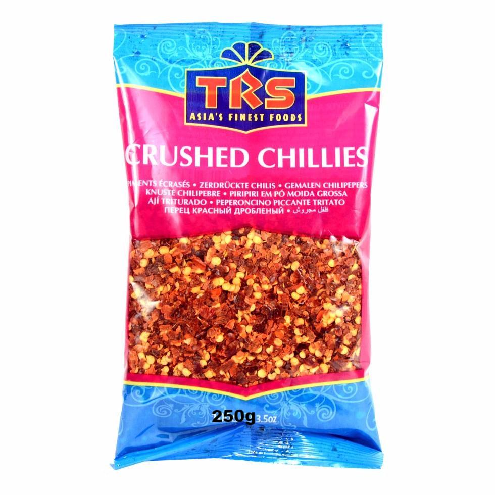 TRS Red Chillies Crushed (Extra Hot) 250g