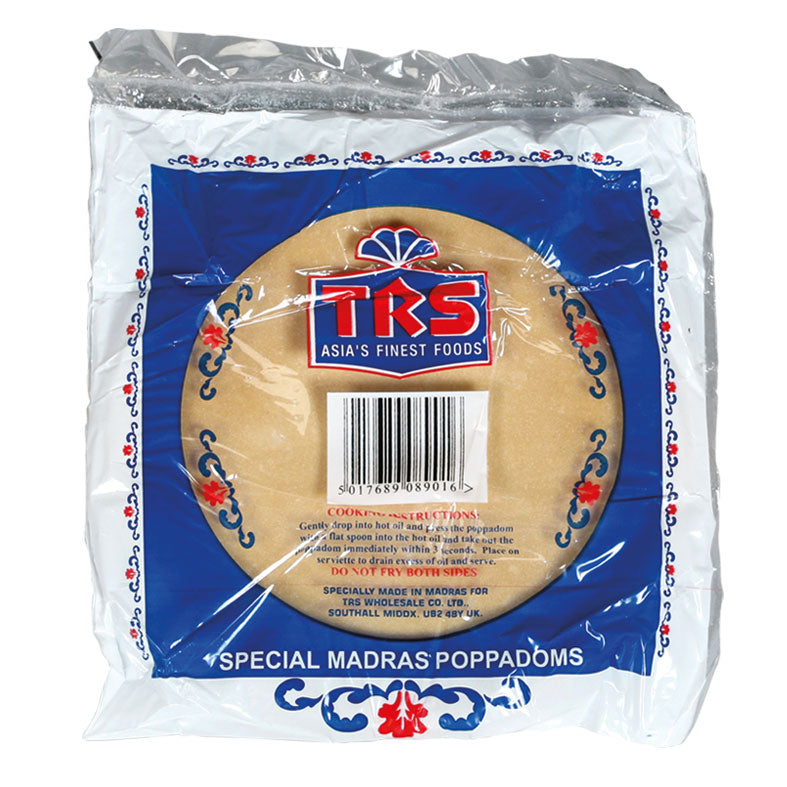 TRS Papads Madras Plain 200g