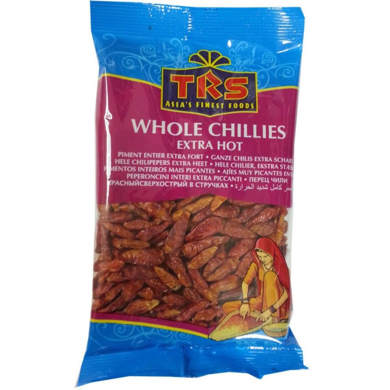 TRS Whole Red Extra-Hot Chillies 50g