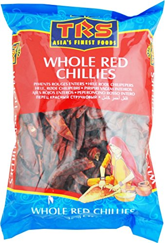 TRS Extra Hot Red Chillies long (Whole) 150g