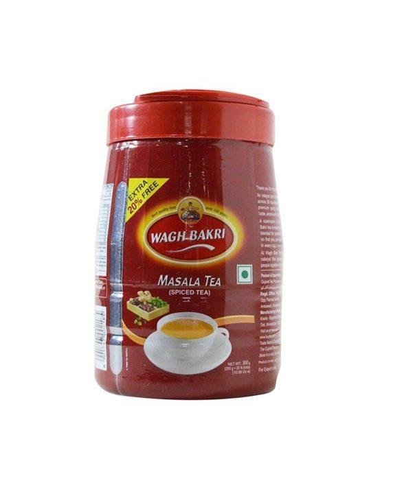 Wagh Bakri Masala (Spiced) Leaf Tea 300g (Jar)