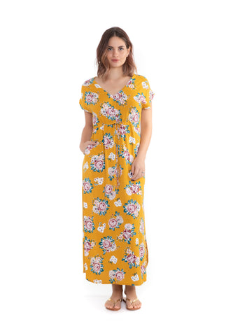 Dress Topsoul - Yellow Leaf