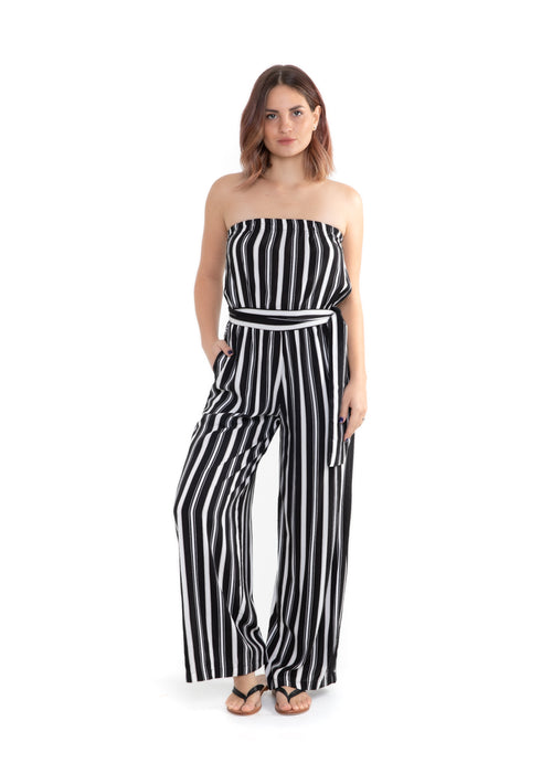 Hannah Jumpsuit - Black Ribbon