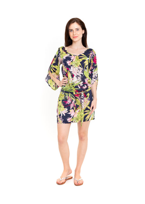 Dress Topsoul - Tropical Navy