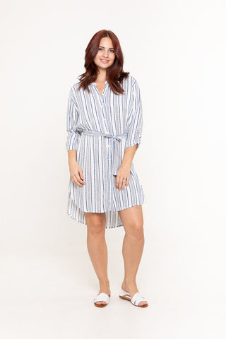 Shirt Dress - Little Leopard