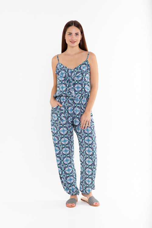 Frill Jumpsuit - Luminous