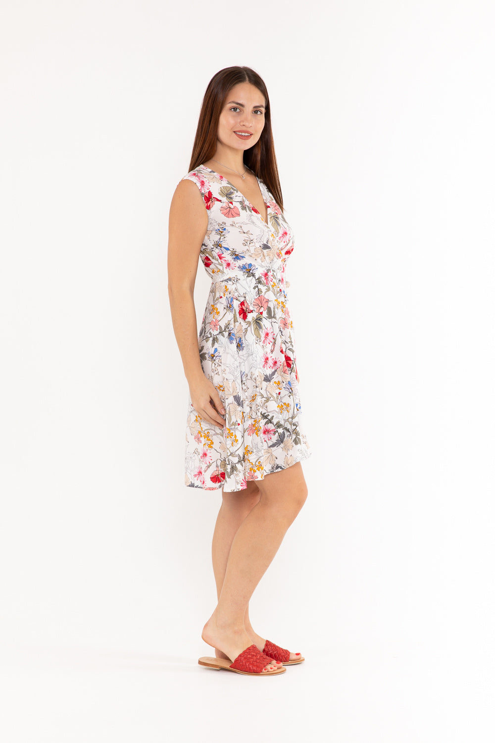 Sandy Wrap Dress - Honeysuckle
