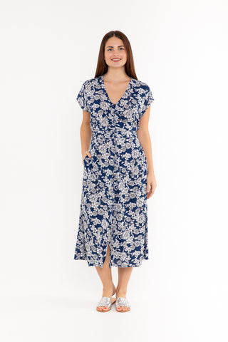 Dress Sammy - Blue Leaf