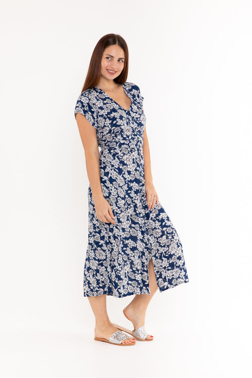 Dress Asher - Blue Bloom