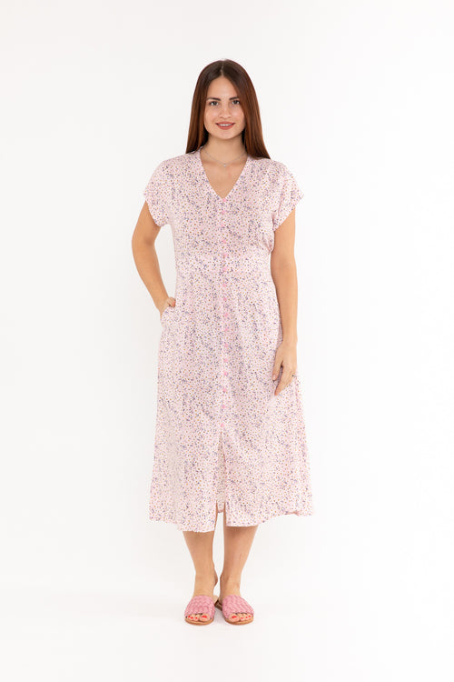 Dress Asher - Little Pink Daisy