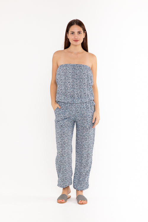 Jumpsuit Strapless - Speckle