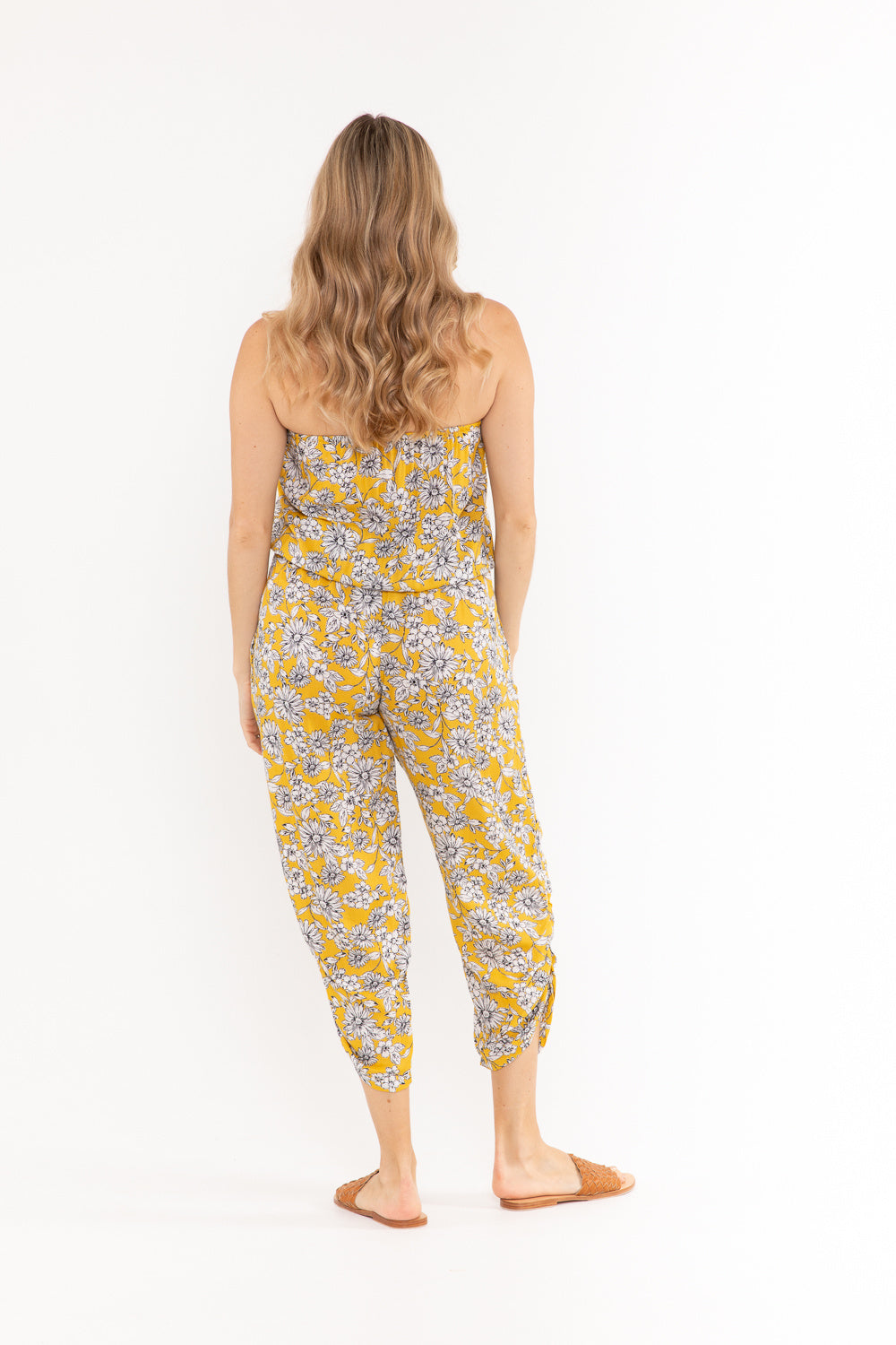 Jenny Jumpsuit - Yellow Bloom