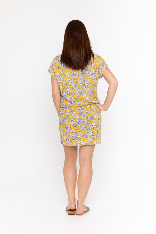 Dress Lily - Yellow Bloom