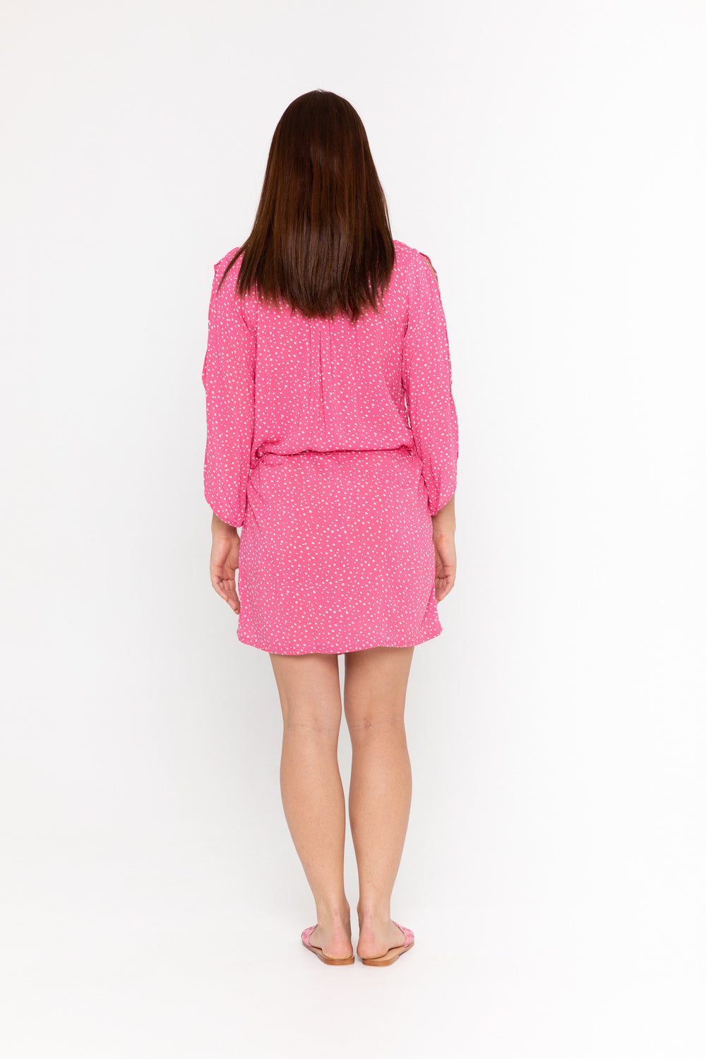 Dress Topsoul - Polka Dot Pink