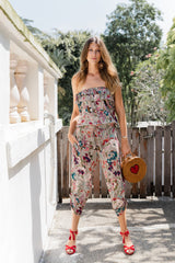 Jenny Jumpsuit - Oriental Bloom Grey