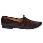 Kolapuri Centre Men's Brown Jutis