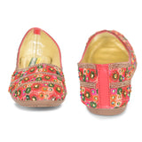 Kolapuri Centre Women's Multicolor Ballerinas