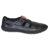 Kolapuri Centre Men's Black Sandals