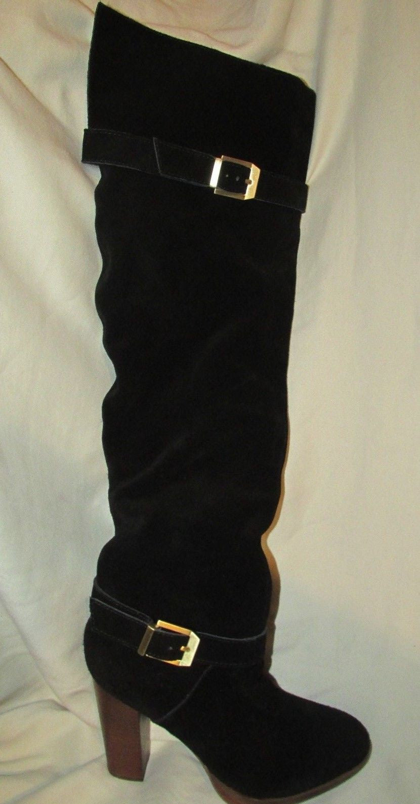 Report Signature Black Suede Boots - Size 6.5M