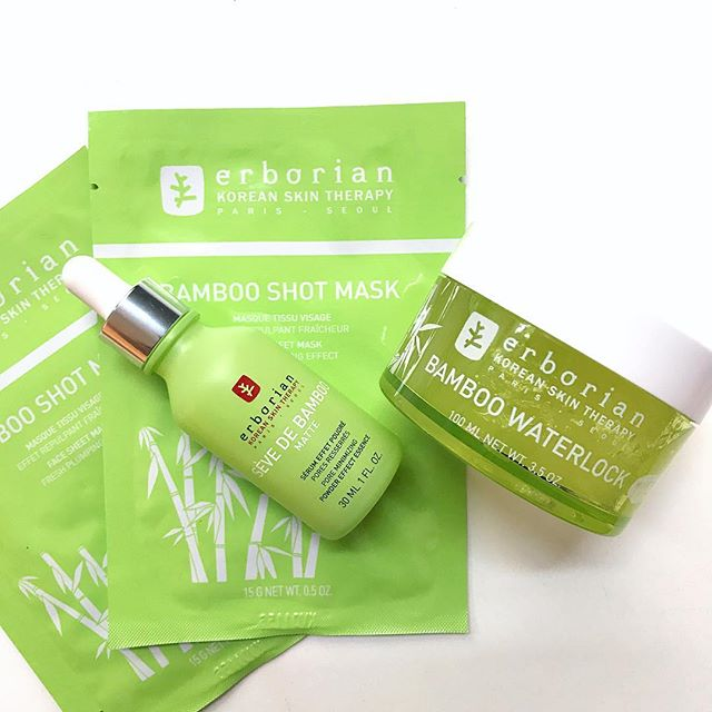 Erborian Singapore Bamboo Matte Serum K-beauty