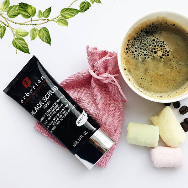 Erborian Singapore Charcoal Skincare Scrub K-beauty