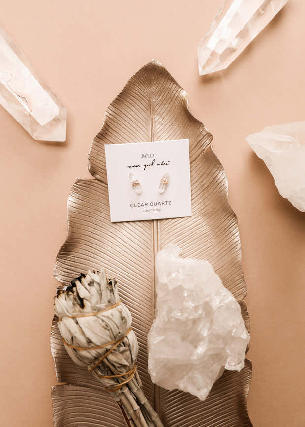 Clear Quartz Mineral Point - Cleansing 1