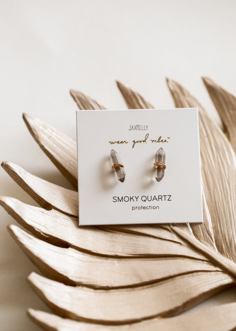 Smoky Quartz Mineral Point - Protection
