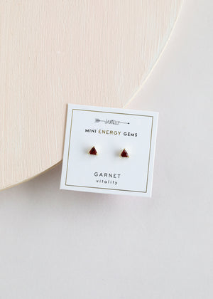 Garnet Mini Energy Gems