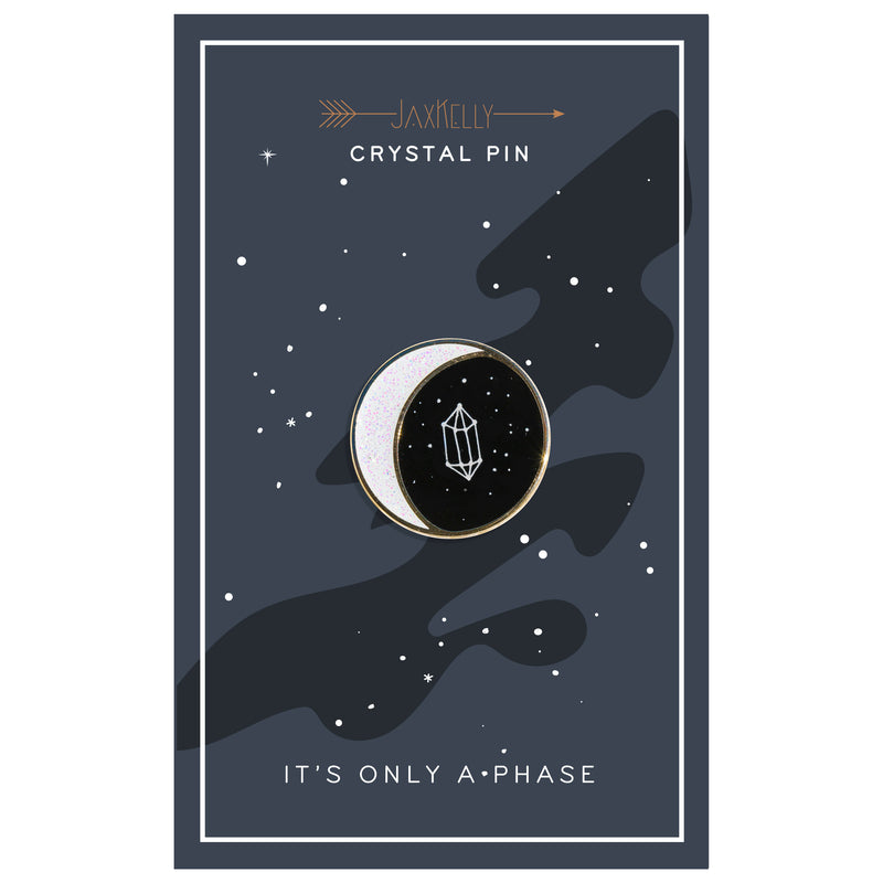 It's Only a Phase Enamel Pin