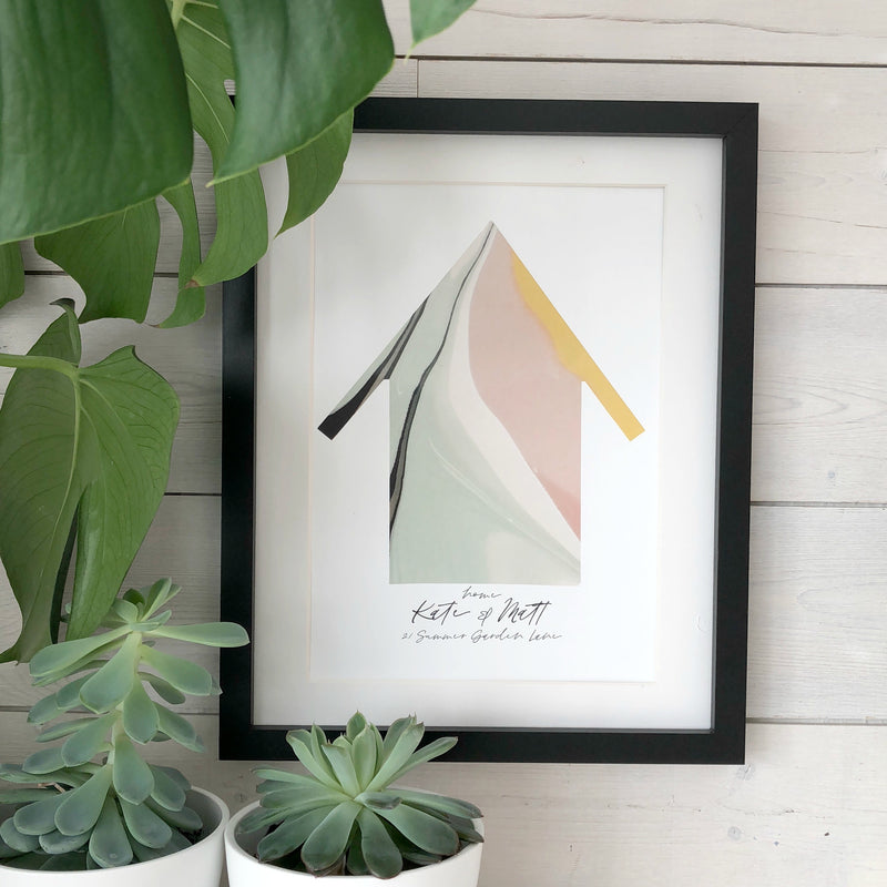 'Home' New Home Print | Kelly Connor Designs