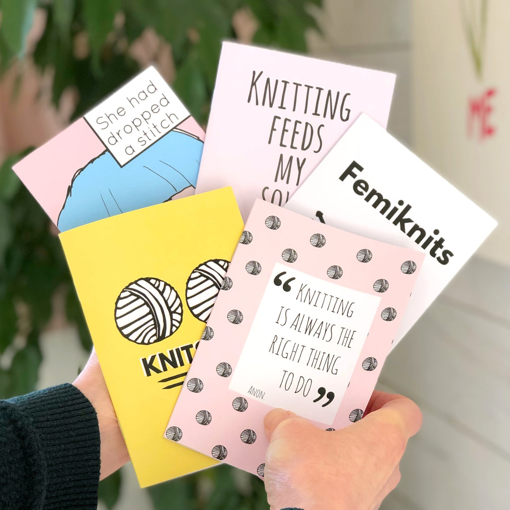A6 Knitting Notebooks | Kelly Connor Designs