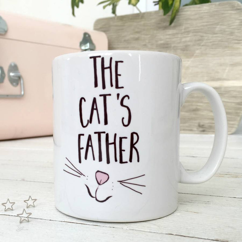 'The Cat's Father' Cat Mug | Kelly Connor Designs