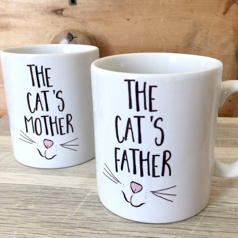 'The Cat's Mother' Mug | Kelly Connor Designs