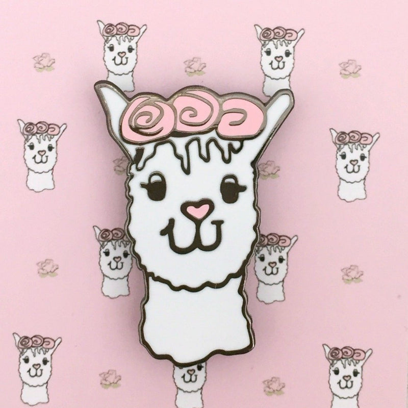 Llama Enamel Pin | Kelly Connor Designs