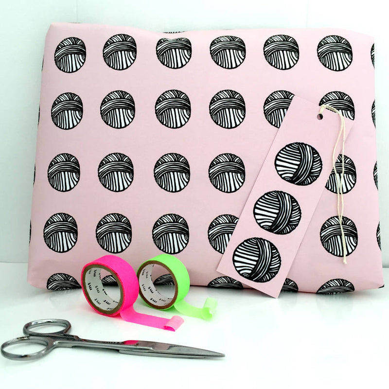 Knitting Gift Wrap  Kelly Connor Designs UK Gift