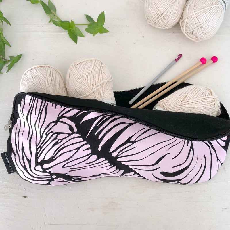 Unique Skein Shaped Knitting Project Bag