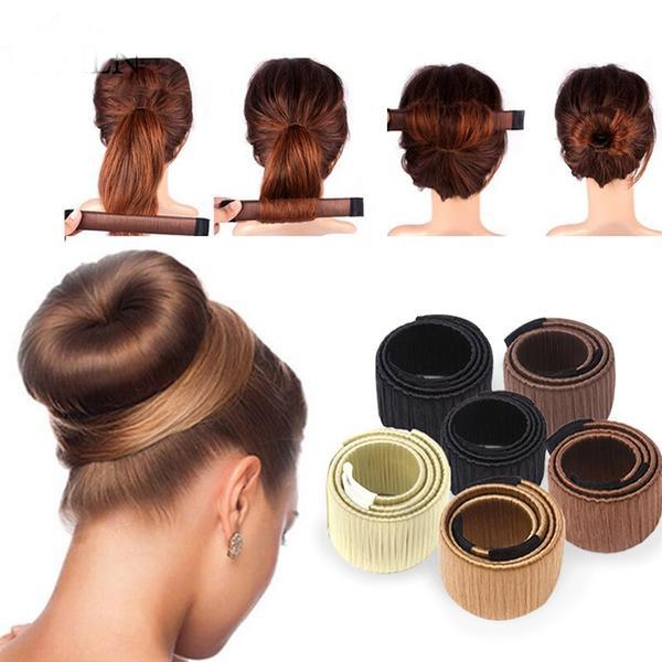 One Clip Bun Maker