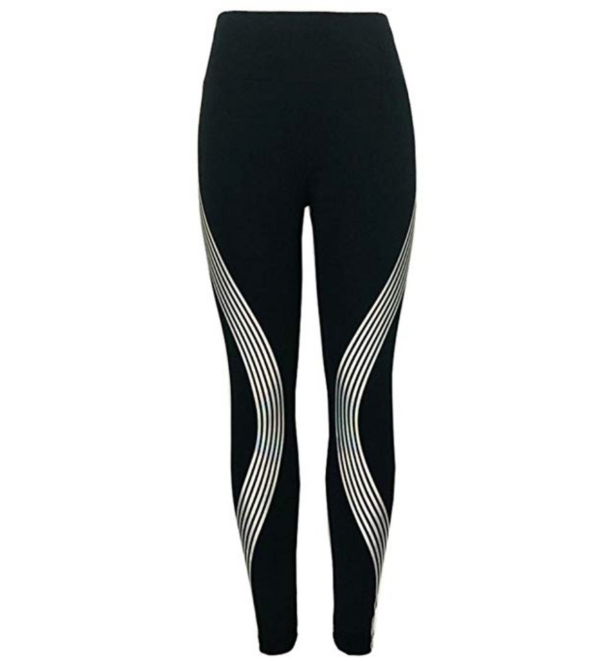 Reflective Glow Yoga Leggings