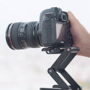 Professional Camera Flex Z Pan & Tilt Folding Aluminium Tripod