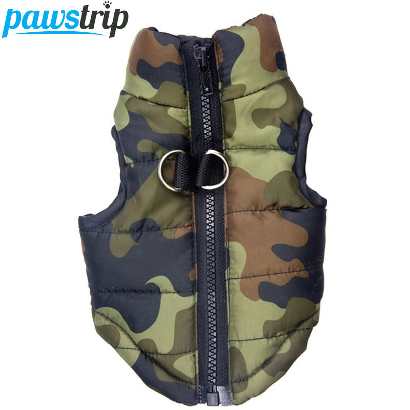 Waterproof Dog Coat Camo Pattern - Namaste Heart Space