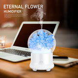 Eternal Flower Color Changing Electric Aromatherapy Ultrasonic Humidifier Aroma Diffuser