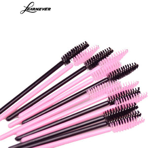 Disposable Eyelash Brush Comb (50-piece)