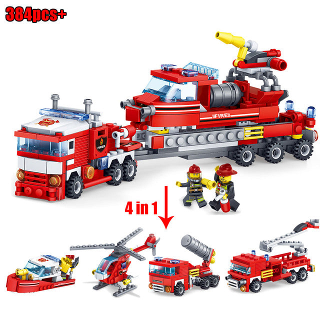 Kids Fire Fighting Figures