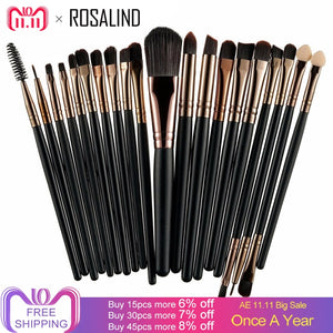 Professional Makeup Brushes Set (20-piece)