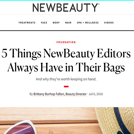 5 Things New Beauty Editors Always Haven In Their Bags