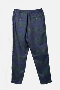 TAPERED 2 PANT Zebra River Blue Green