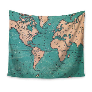 Le Monde Deux! Travel Blanket