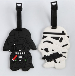 Star Wars Luggage Tags (Darth Vader & Storm Trooper)