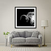 Crown Of Thorns - Ram Giant Format - Artist Print with Frame (Print Size:100cm x 100cm; Framed Size 114cm x 114cm)